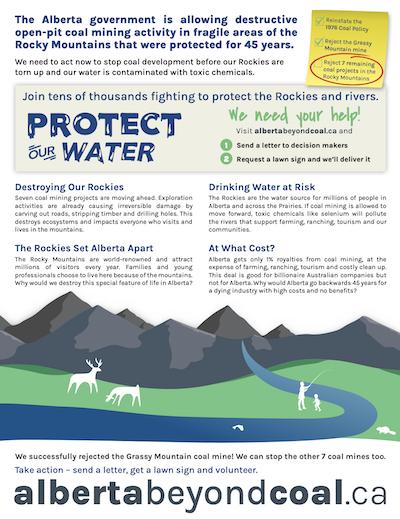 Alberta Beyond Coal Info Sheet